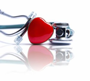 love heart with stethoscope